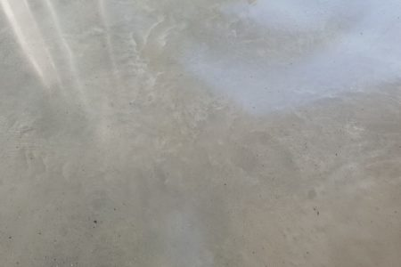 Platinum polished concrete floor